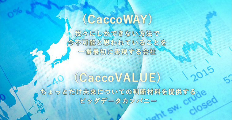 CaccoWAYとCaccoVALUE